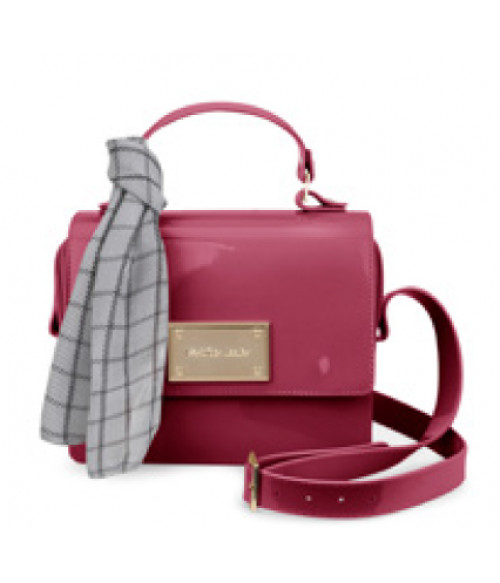 PTJ 2834 lux plum bag