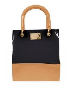 PTJ 2840 nude black bag