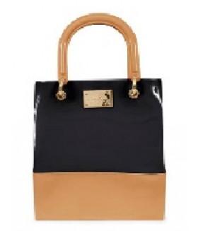 PTJ 2840 nude black bag
