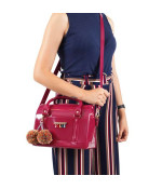 PTJ 3020 plum color bag